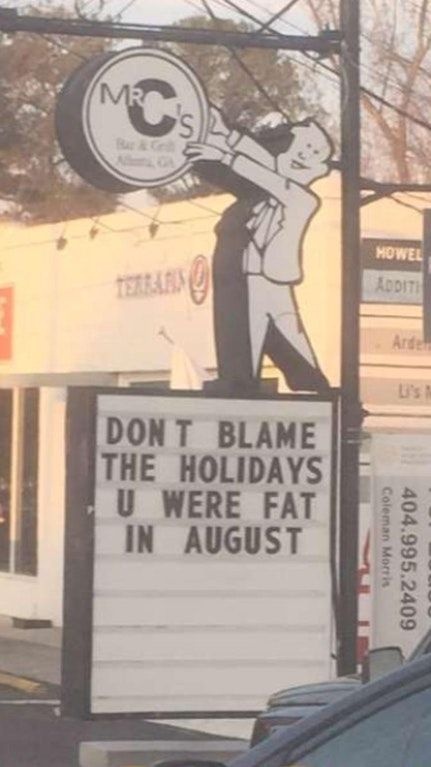 Local restaurant speaks the truth : funny