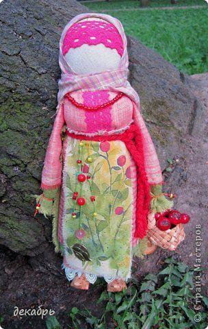 Куклы День семьи Шитьё Рябинка Ткань фото 7