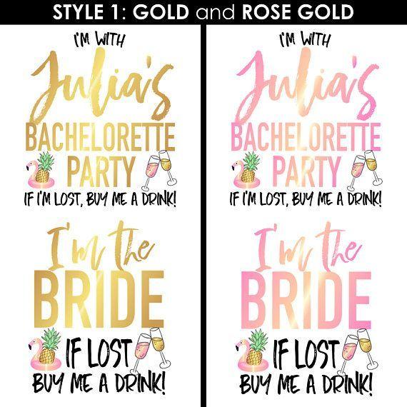 Bachelorette Party Tattoos, Bachelorette Tattoos Brauch, Brautjungfer Geschenk, … – Verschiedene Tattoo-Ideen