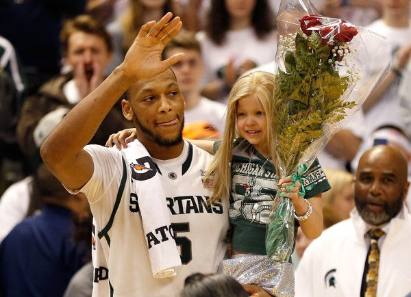 Lacey Holsworth, friend of MSU's Adreian Payne, has died.  A brave and beautiful little girl.  You are home sweet little princess.