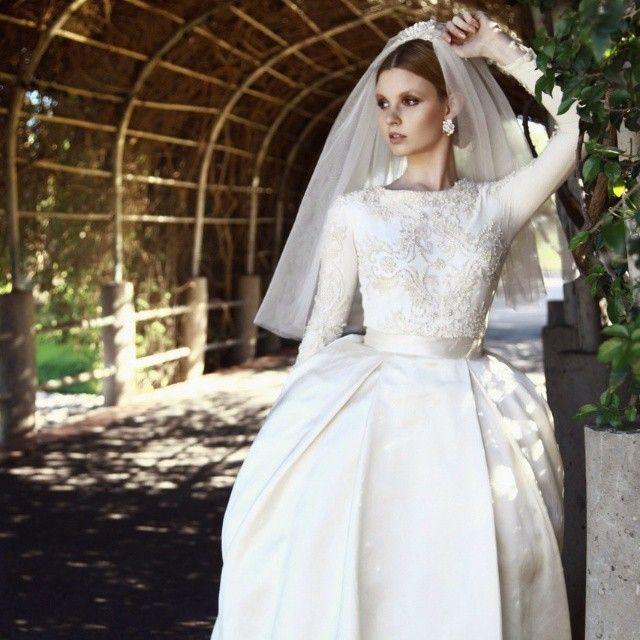 Jewish Wedding Dresses: Chana Marelus Couture Bridal #tznius