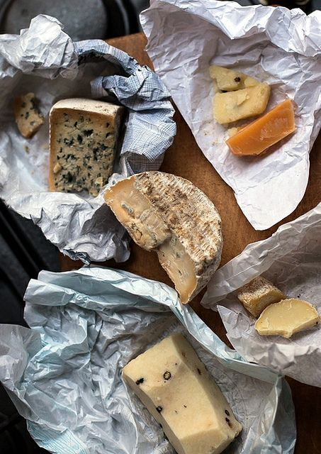 Fromage forte by David Lebovitz.  Great way to use up all the little bits of cheese in the fridge.