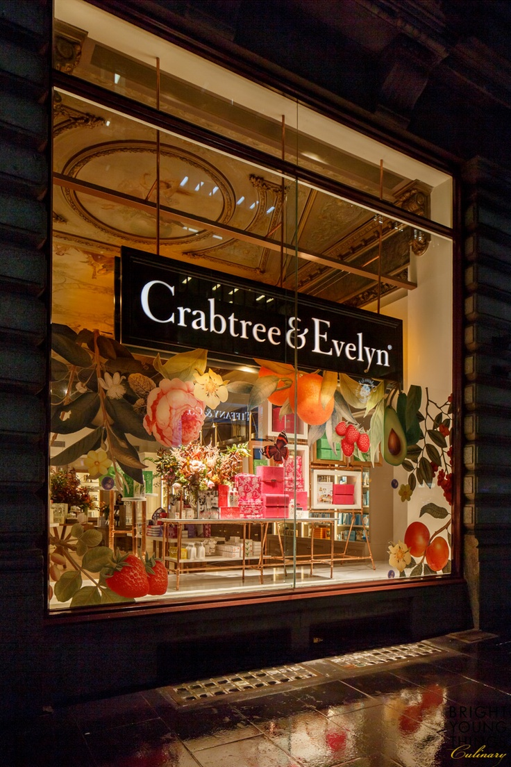 crabtree evelyn block arcade store launch night by byt british style pinterest. Black Bedroom Furniture Sets. Home Design Ideas