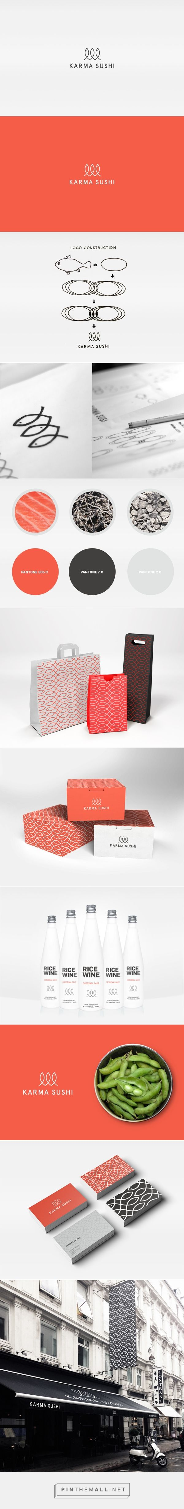 Karma Sushi on Behance - created via http://pinthemall.net