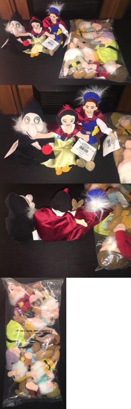 Snow White 19222: Disney Store Snow White Seven Dwarfs Mini Bean Bag Plush Witch Prince Lot (10) -> BUY IT NOW ONLY: $89.99 on eBay!