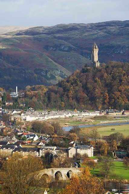Stirling, Scotland  1h from Edinburgh, near Loch Lomond and The Trossachs National Park.