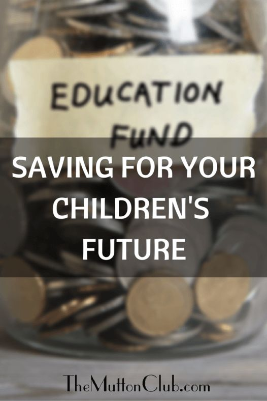 Are you worried about not saving for your children's education/future home/car? You're not alone!