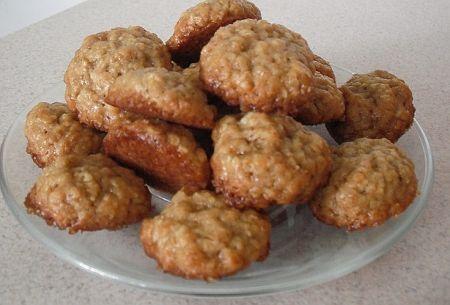 Egyszerű zabpelyhes keksz Adrikától