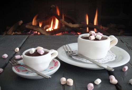 Cupcake Warme Chocolademelk recept | Dr.Oetker