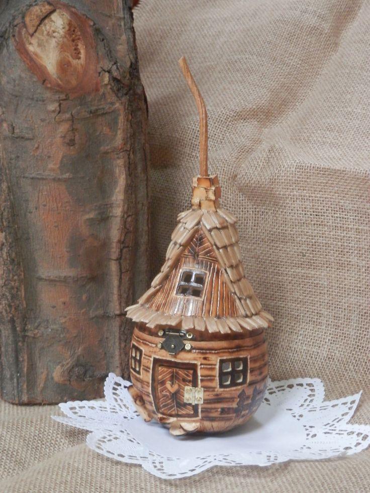 góralski domek z tykwy