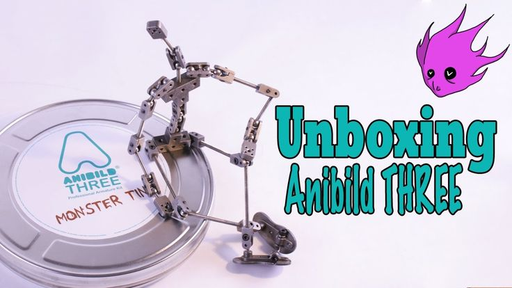 Unboxing: Anibild THREE Professional stop-motion Armature MONSTER TIN