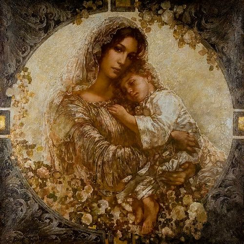Mother Mary and Jesus