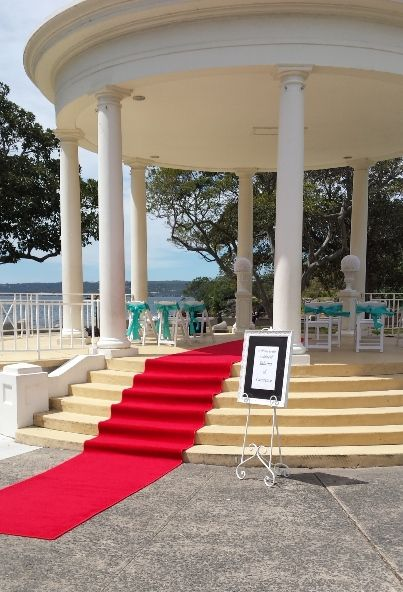 Outdoor Ceremony Hire Balmoral Rotunda Fairytale Events