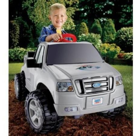 fisher price power wheels silver ford f 150 6 volt battery powered ride cars for kidstoys