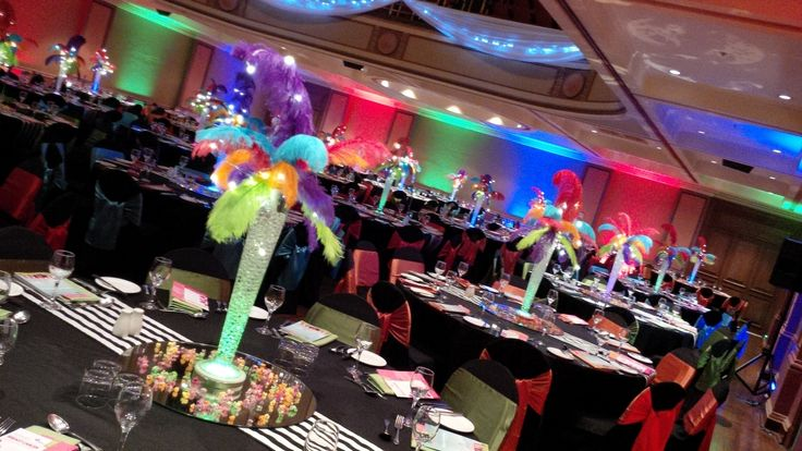 #Circus Theme - we loved the vision of NCIG #feathers