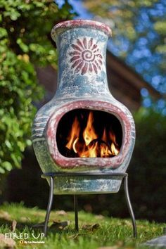 Chiminea on Pinterest | Clay, Roosters and Fireplaces