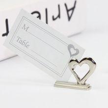1 unid novia novio nombre lugar de la tabla titular de la tarjeta de lugar forma del corazón del amor decoración de la tabla(China (Mainland))