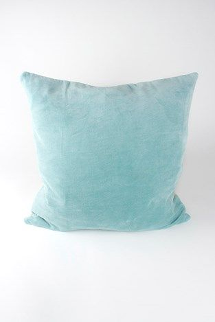 hand dyed velvet cushion cover square