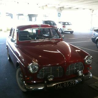 Volvo Amazone front: Classic Cars, Skip Buddy