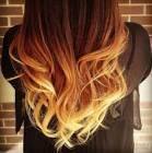 capelli sfumati rossi biondi - Cerca con Google