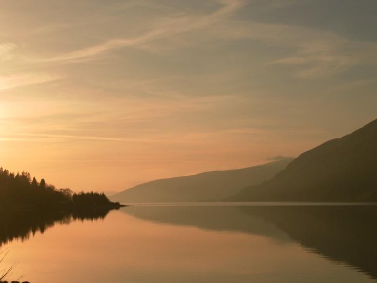 Loch Lochy Sunset