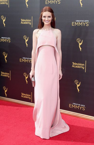 Actress Lydia Hearst attends the 2016 Creative Arts Emmy Awards at Microsoft…