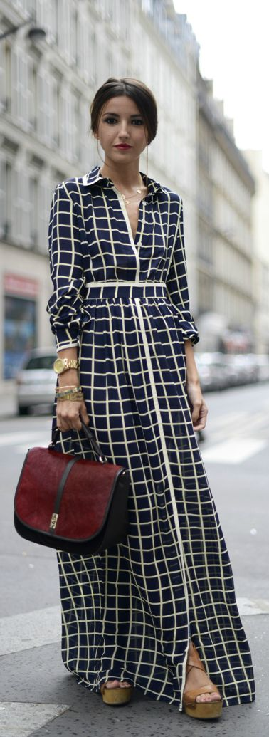 Maxi windowpane | PFW: Hexa by Kuho