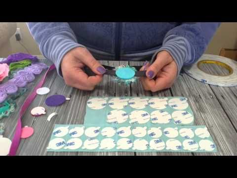 Great video demonstrating how to use  Triple Duty Double Sided Halo's to create great headbands!