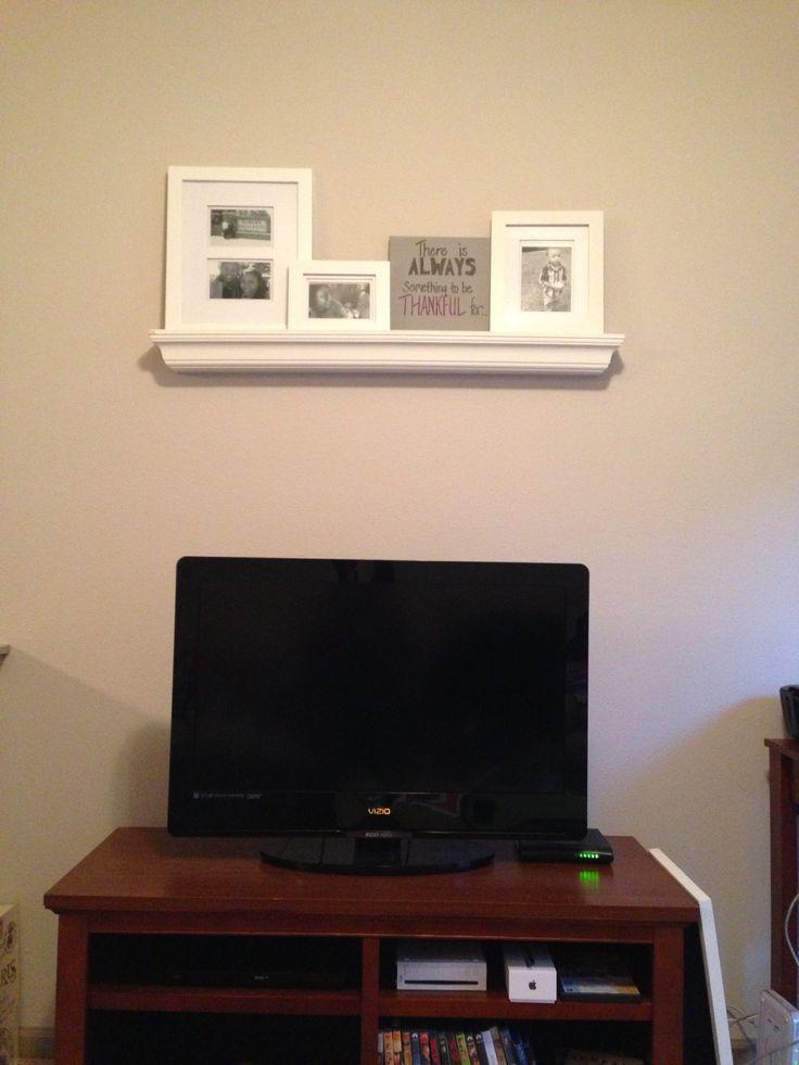 1000 Ideas About Shelf Above Tv On Pinterest Tv On Wall