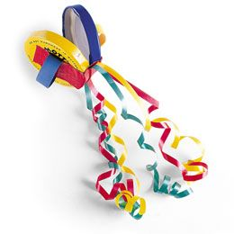 DIY colorful castanets - fun percussion instrument made of recycled materials - Homemade musical instrument