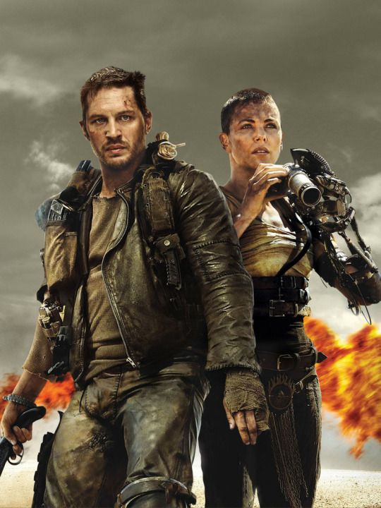 Tom Hardy and Charlize Theron in Mad Max Fury Road. http://www.buzzsprout.com/44722/274941-my-10-year-old-reviews-mad-max-fury-road-tons-of-spoilers