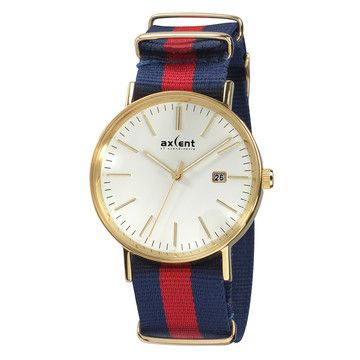 Axcent Of Scandinavia: Vintage Watch Ivory Blue Red, at 44% off!