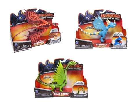 Jak vycvičit draka - Funkční figurky draků