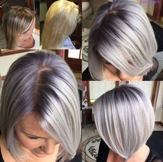 Sommer ..., du möchtest die Haare etwas kürzer tragen aber bestimmt nicht zu kurz. Die Antwort heißt … eine schulterlange Frisur! - Neue Frisur