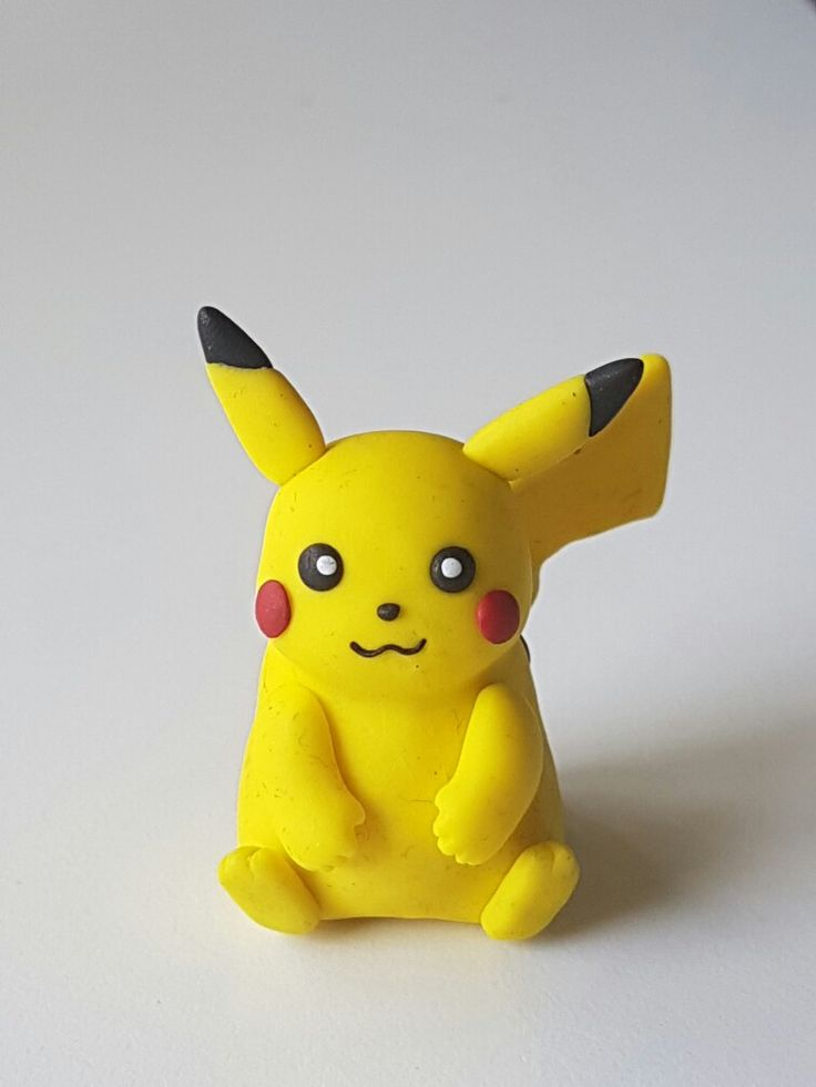 Pikachu. Polymer Fimo Clay