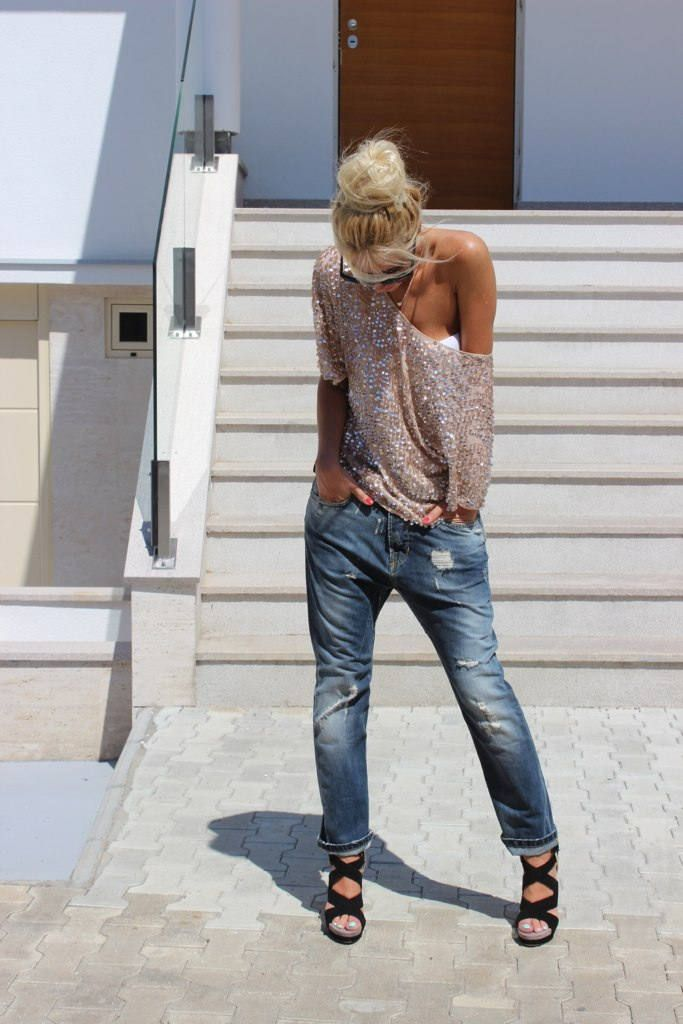 If I Were A Boy ( Jeans & Heels & Wedges )