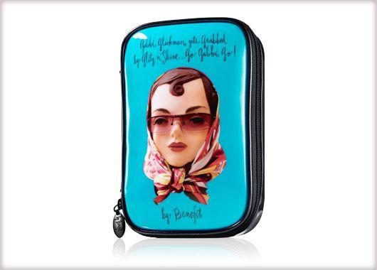 Benefit Cosmetics - gabbi makeup bag #benefitbeauty