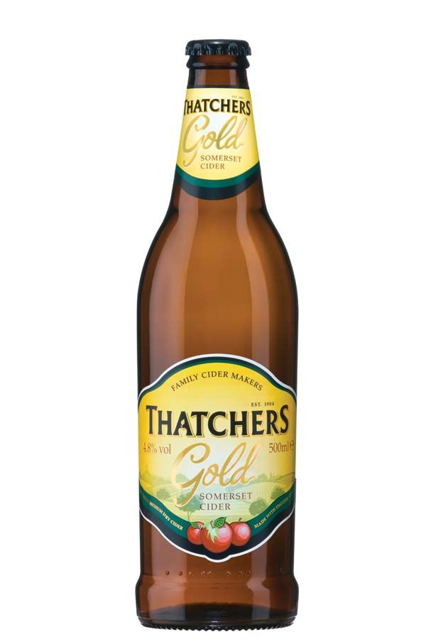 English (Sommerset) Cider - Thatcher's Gold from the West Country