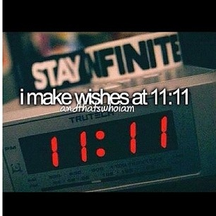 I do! I make wishes at 11:11, and on stars, and on just about anything else you can possibly wish on :P
