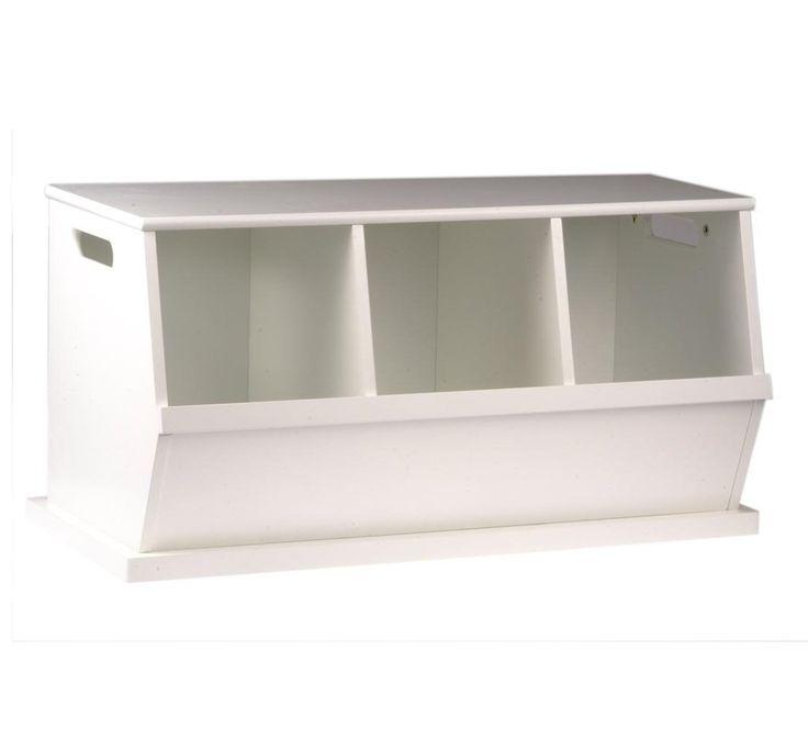 Camden Triple Stacking Storage Trunk - White R2,500 nestdesigns.co.za
