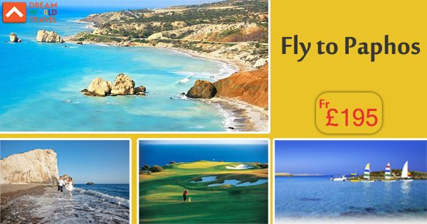 Book cheap flights from London to Paphos with Dream World Travel.Find Cheap Flight Deals on all major airlines.  #Cheap #Flights #To #Paphos #CheapFlights #To #Europe