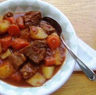 Beef Stew in Tomato Sauce (Estofado de Res)