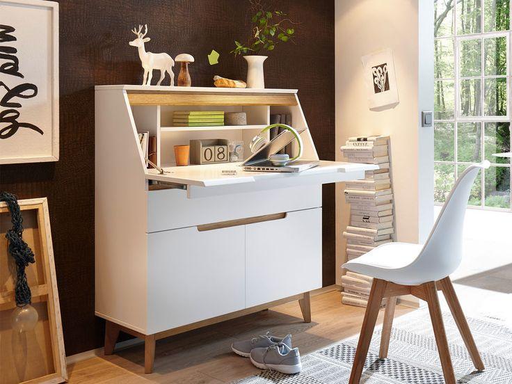 Sekretär Schreibtsich Bürotisch Laptoptisch Arbeitstisch Tisch  Griffith I