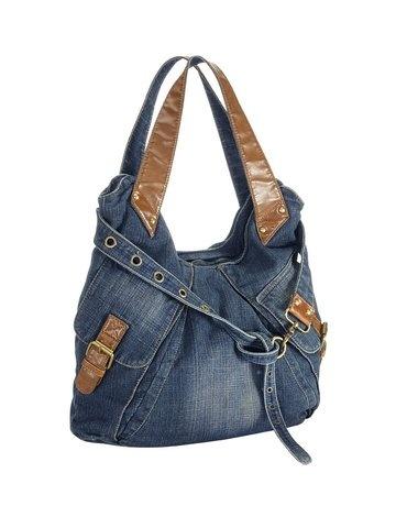 Tasche blue denim