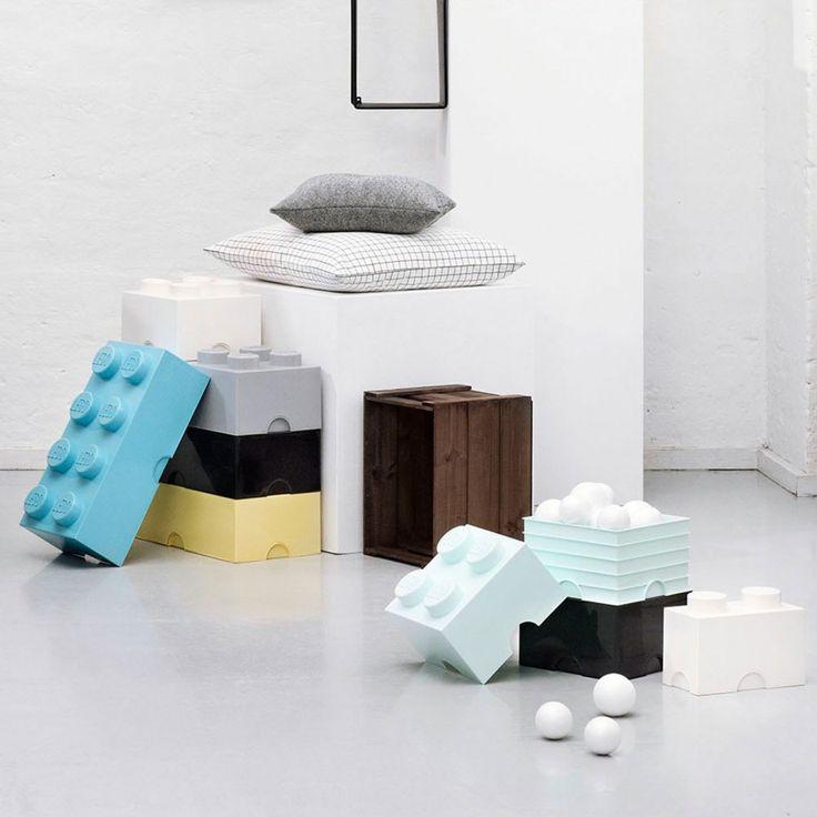 LEGO for Room Copenhagen - Verspielte Aufbewahrungslösungen