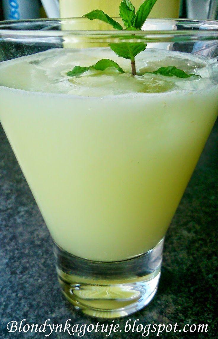 Blondynka Gotuje: Lemoniada ponoć Amerykańska