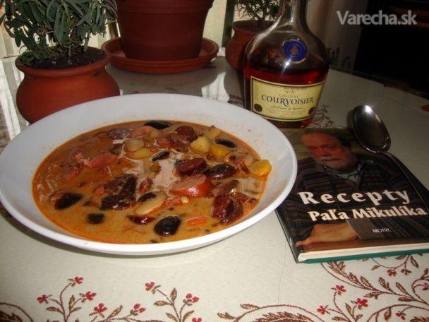 Fazuľová polievka, môj variant nežnej podľa Paľka (fotorecept)