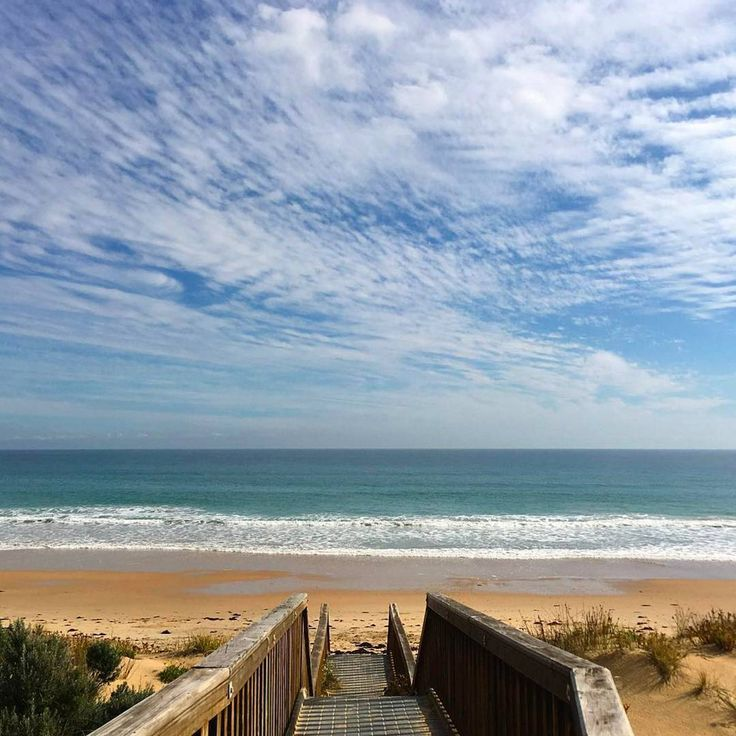 A trip to Onkaparinga's picturesque Maslin Beach is the perfect way to relax and enjoy the great outdoors in South Australia. Beautiful photo @wineykids.