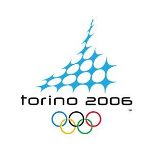 Official logo for the 2006 Turin Olympic games