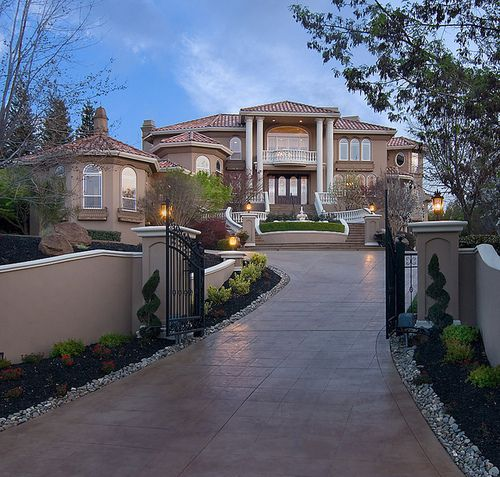 Big house in la alin va a california l a learn to get for Beautiful dream homes